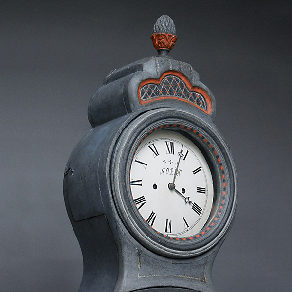 Mora Clock with Original Painted Surface