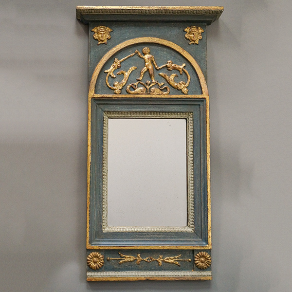 Period Neoclassical Mirror with Mythological Figures