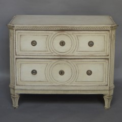 Period Gustavian Two-Drawer Chest