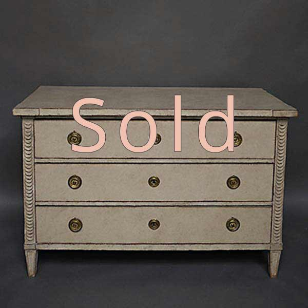 Antique Swedish chest of drawers
