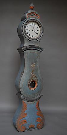 Mora clock with original paint