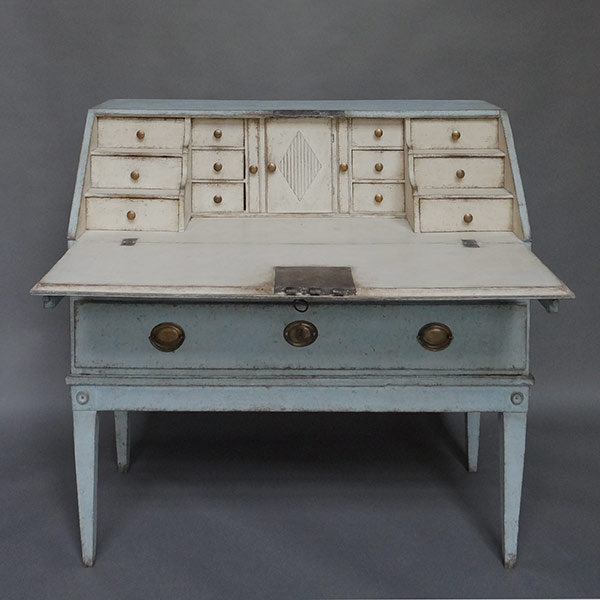 Two drawer writing desk, Sweden circa 1880.