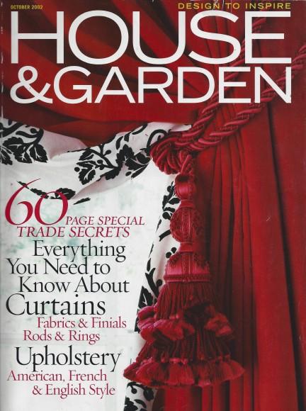 House & Garden Cover Oct 02