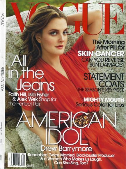 Vogue Feb 06 cover