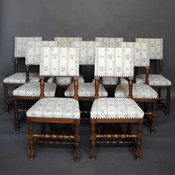 Danish dining chairs renaissance style