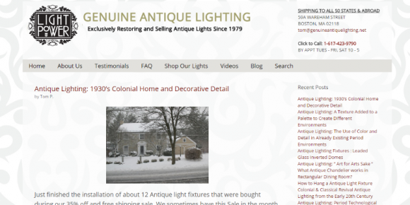 genuineantiquelighting