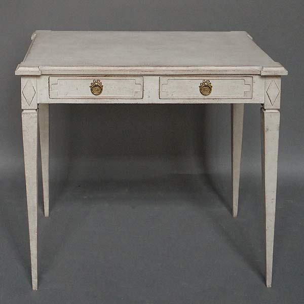 Small Gustavian style writing table