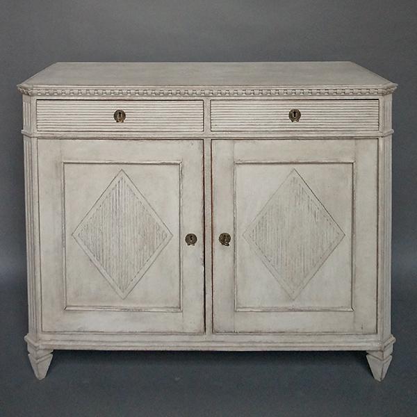 Late Gustavian style Swedish sideboard