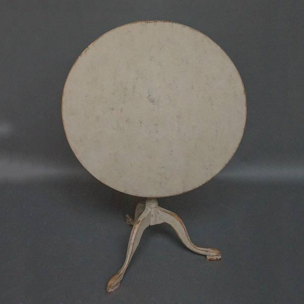 Period Gustavian tilt tip table