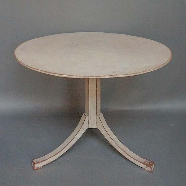 Antique Swedish tilt-top breakfast table