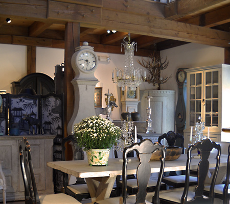 The largest collection of Swedish antiques in America!