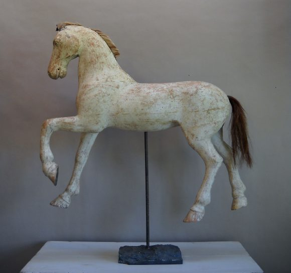 Swedish carved toy horse