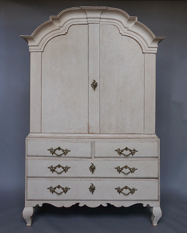 Period Rococo Cabinet with Original Hardware