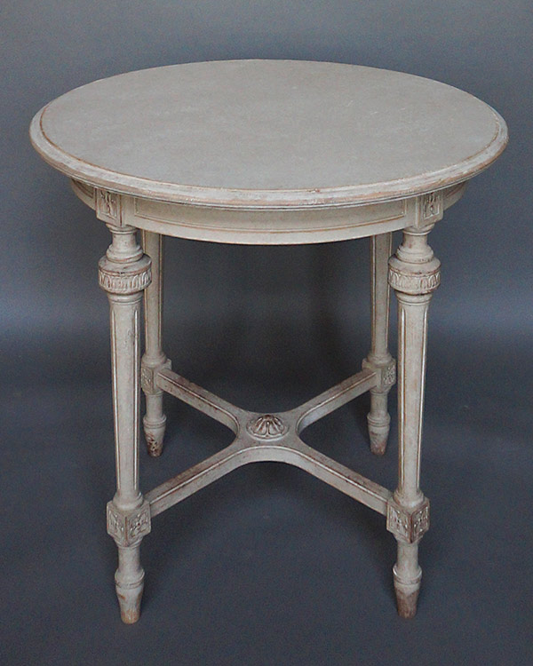 Round Swedish Side Table