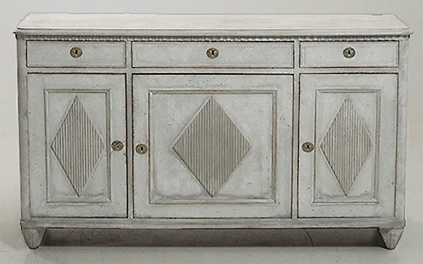 Swedish Sideboard with Gustavian Detail