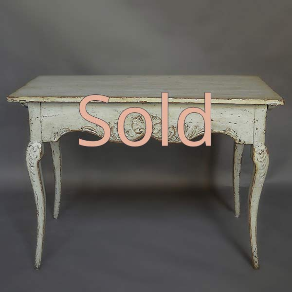 Rococo Style Writing Table