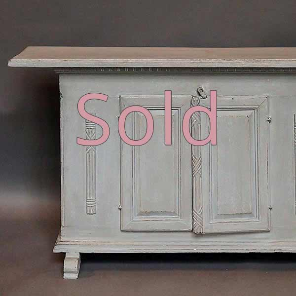 Small Neoclassical Sideboard