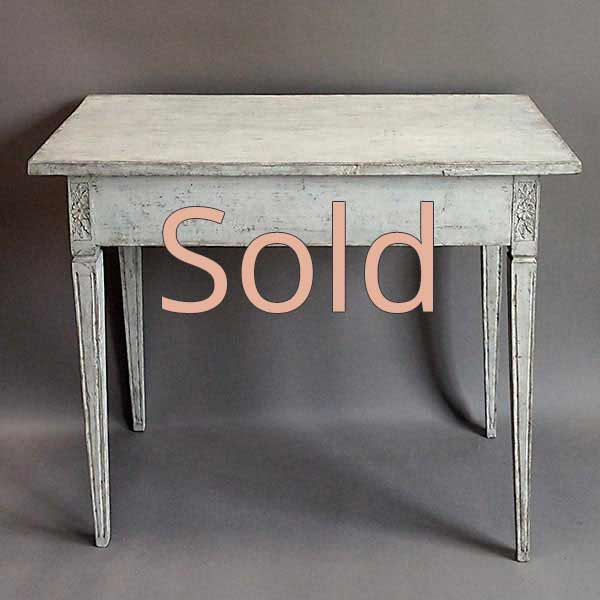 Gustavian Style Side Table