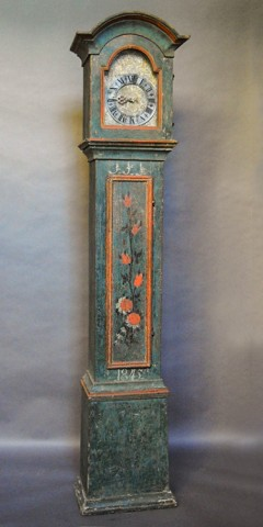 Swedish Clock in Original Paint