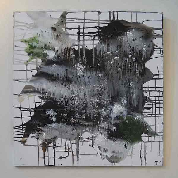 Contemporary painting by Danish artist Jannie From.