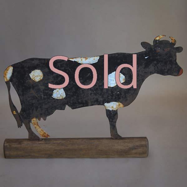 Danish cow sign
