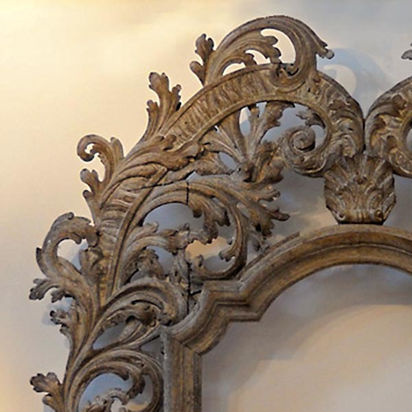 Monumental carved Italian frame