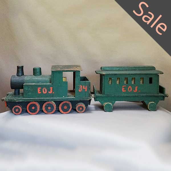 Antique toy train from Sweden
