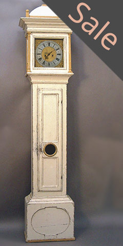 Danish Tall Case Clock