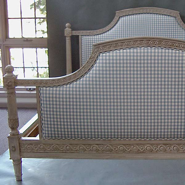 Gustavian Upholstered Bed