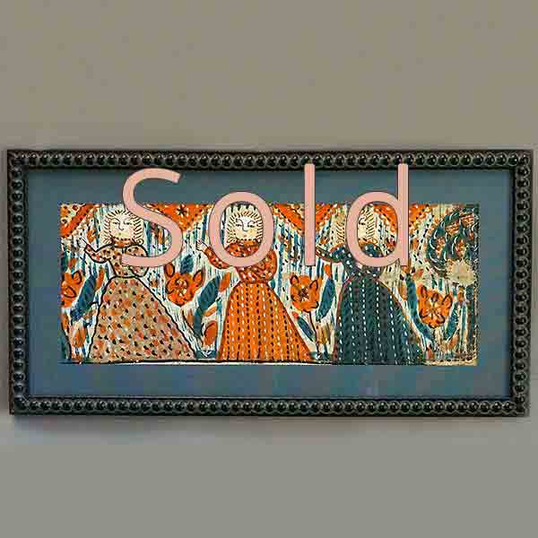 Bonad Fragment with Three Figures