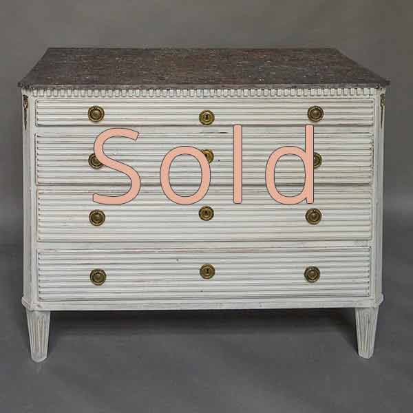 Period Gustavian Chest of Drawers