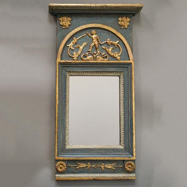 Neoclassical Swedish mirror, circa 1830.
