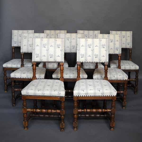 Danish dining chairs renaissance style