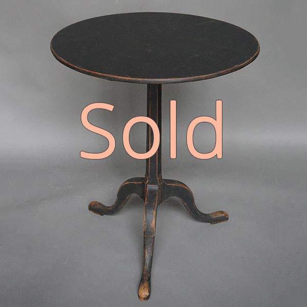 Small Tilt Top Table