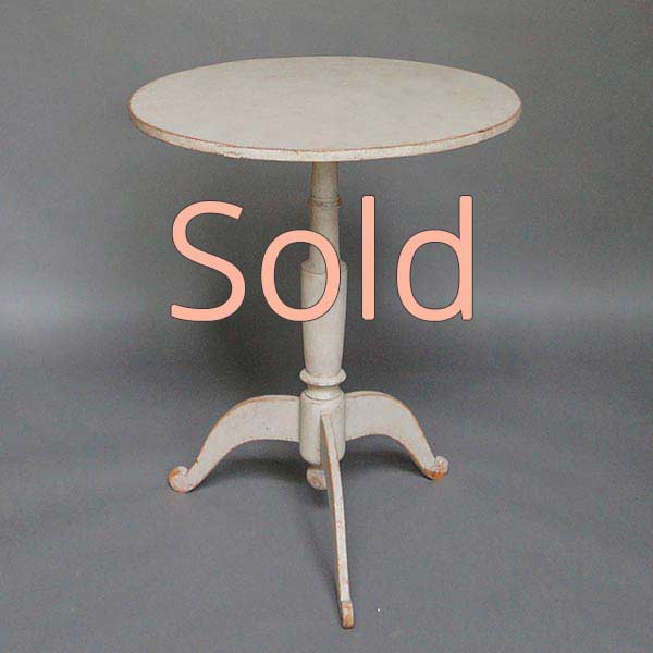 Tilt-top Side Table with Tripod Base