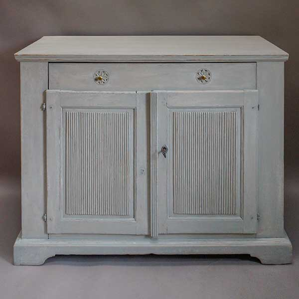 Antique Swedish sideboard from the late Gustavian period, circa 1820