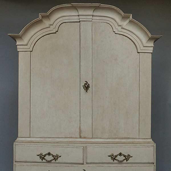 Period Swedish Rococo cabine