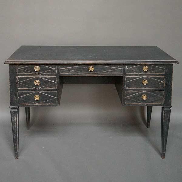Neoclassical Swedish writing desk.