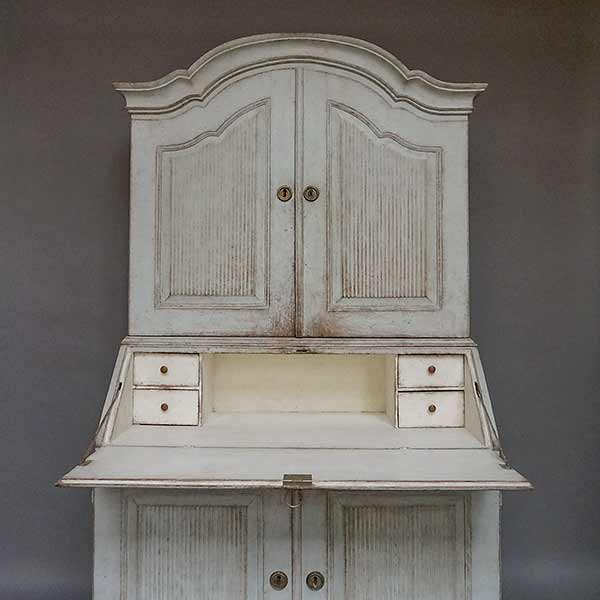 Late Gustavian period secretary