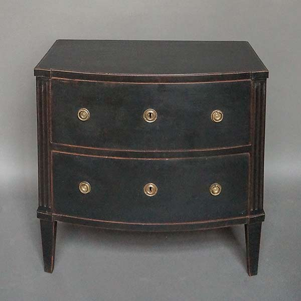 Late Gustavian Two Drawer Commode