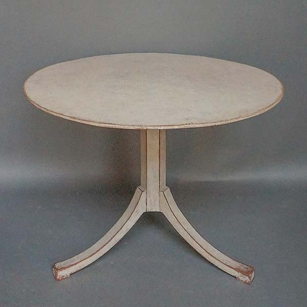 Antique Swedish tilt-top breakfast table
