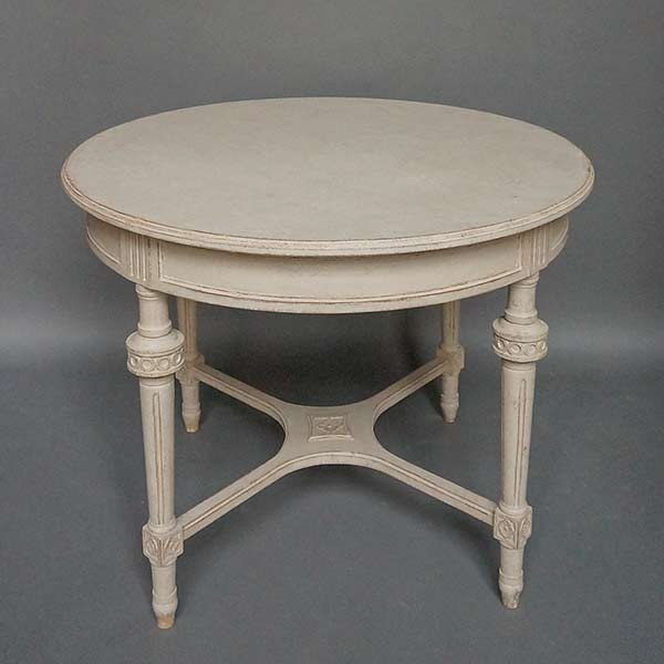 Antique neoclassical style round table