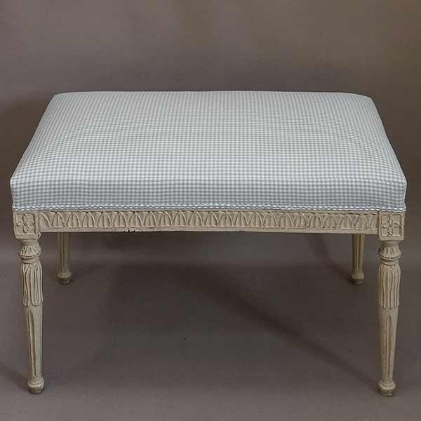 Nineteenth Century Gustavian Style Bench