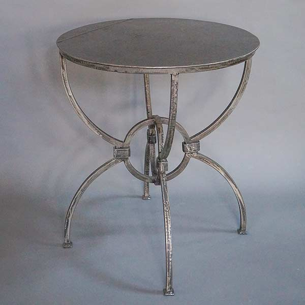 Sundial Table in steel