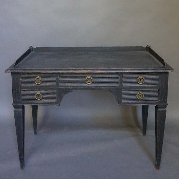 Swedish Knee Hole Writing Desk