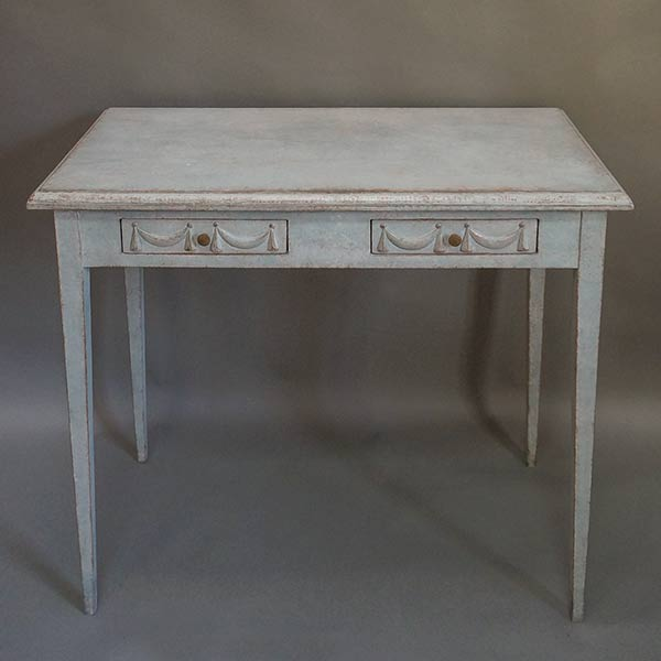 Gustavian style writing table