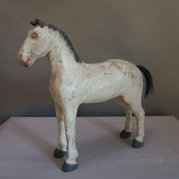 Toy Horse from the Gemla Factory