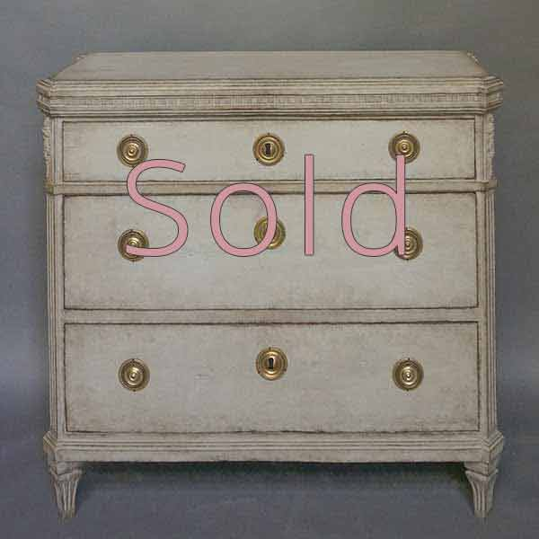Period Neoclassical Commode