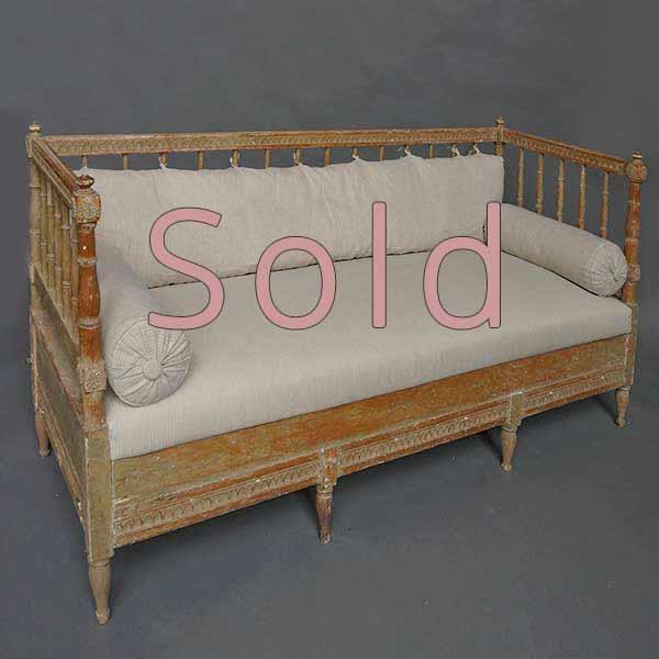 Period Gustavian Sofa