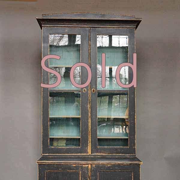 Black Swedish Bookcase